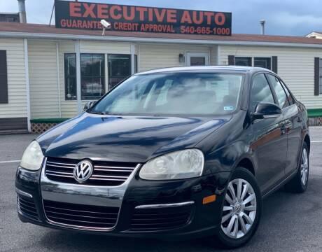 2008 Volkswagen Jetta for sale at Executive Auto in Winchester VA