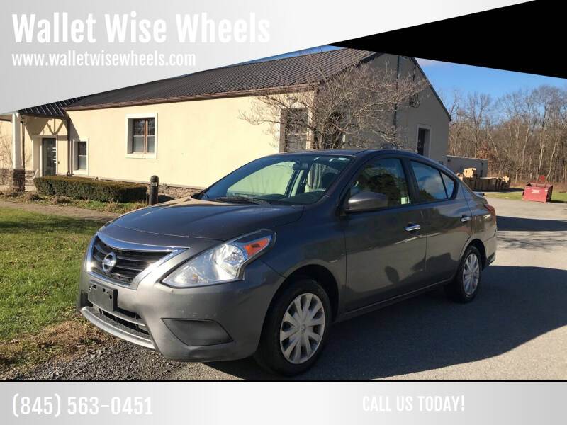 2016 Nissan Versa for sale at Wallet Wise Wheels in Montgomery NY