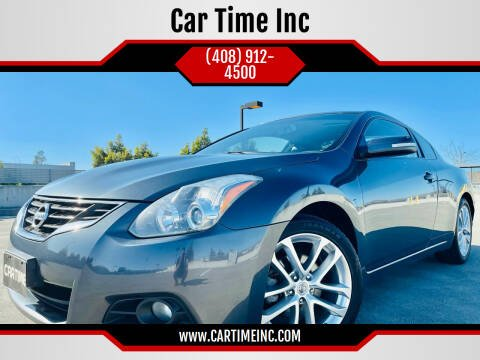 2011 Nissan Altima for sale at Car Time Inc in San Jose CA