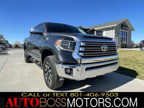 2016 Toyota Tundra for sale at Auto Boss in Woods Cross UT