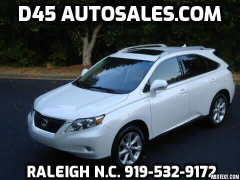 2012 Lexus RX 350 for sale at D45 Auto Brokers in Raleigh NC