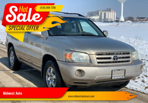 2005 Toyota Highlander for sale at Midwest Auto in Naperville IL