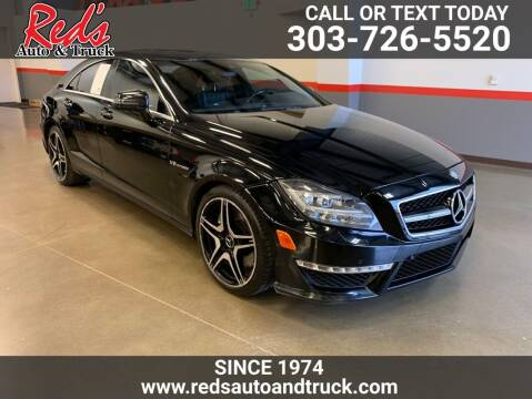 2013 Mercedes-Benz CLS for sale at Red's Auto and Truck in Longmont CO