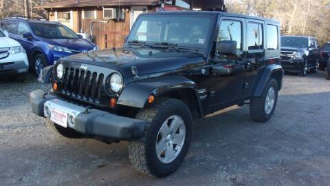 2009 Jeep Wrangler Unlimited for sale at Select Cars Of Thornburg in Fredericksburg VA