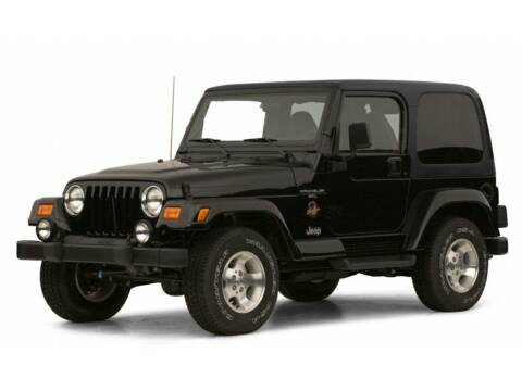 2001 Jeep Wrangler for sale at Bill Gatton Used Cars - BILL GATTON ACURA MAZDA in Johnson City TN