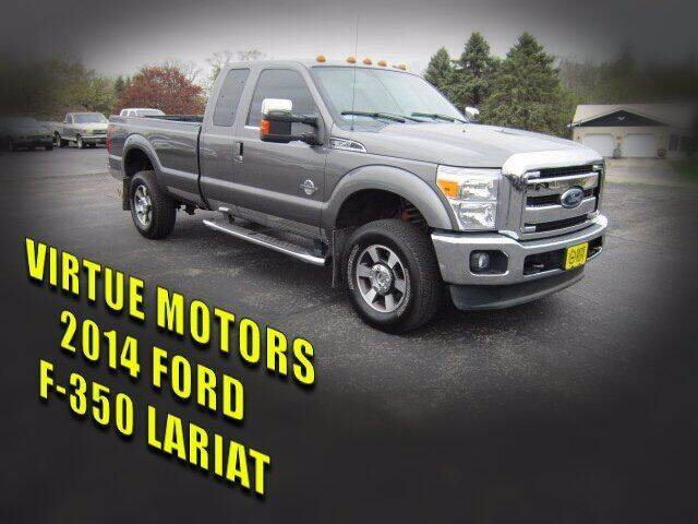 2014 Ford F-350 Super Duty for sale at Virtue Motors Used in Darlington WI