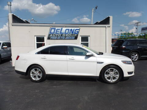 2013 Ford Taurus for sale at DeLong Auto Group in Tipton IN