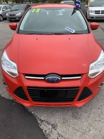 2012 Ford Focus for sale at Right Choice Automotive in Rochester NY