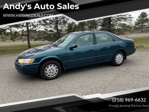 1998 Toyota Camry for sale at Andy's Auto Sales in Hibbing MN