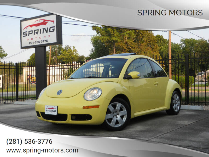 2007 Volkswagen New Beetle for sale at Spring Motors in Spring TX