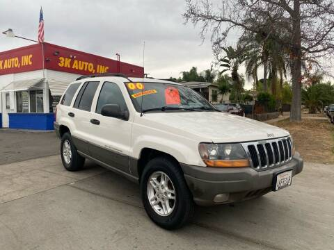 2000 Jeep Grand Cherokee for sale at 3K Auto in Escondido CA