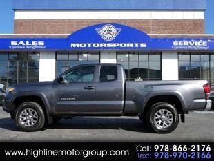 2019 Toyota Tacoma for sale at Highline Group Motorsports in Lowell MA