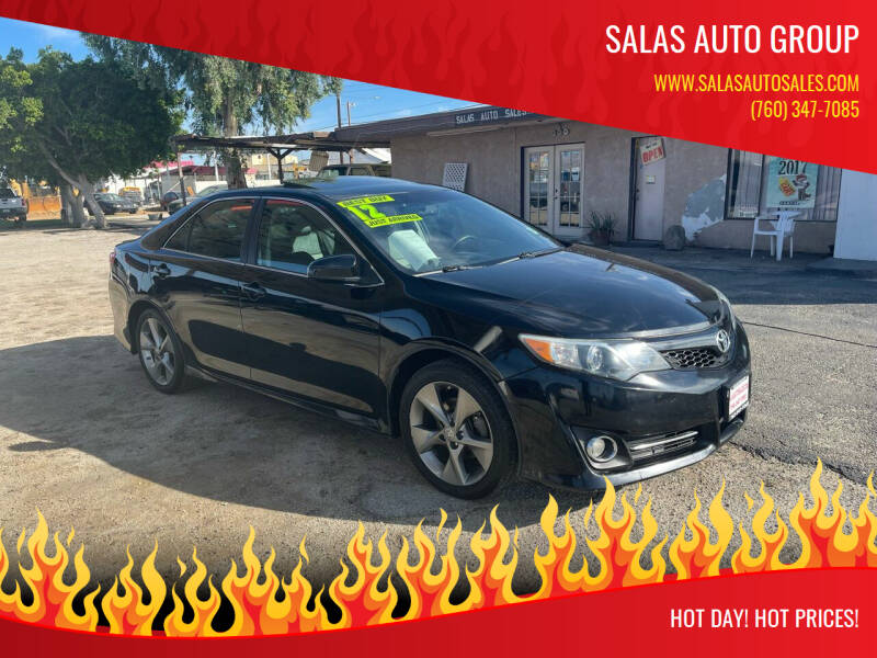 2012 Toyota Camry for sale at Salas Auto Group in Indio CA
