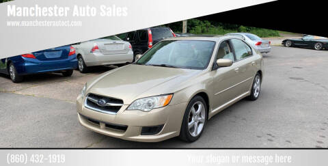 2008 Subaru Legacy for sale at Manchester Auto Sales in Manchester CT