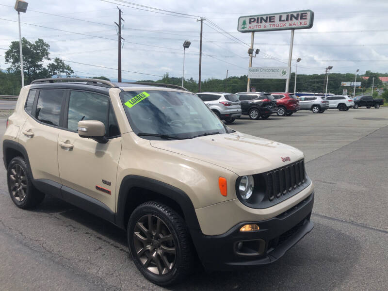 2016 Jeep Renegade for sale at Pine Line Auto in Olyphant PA