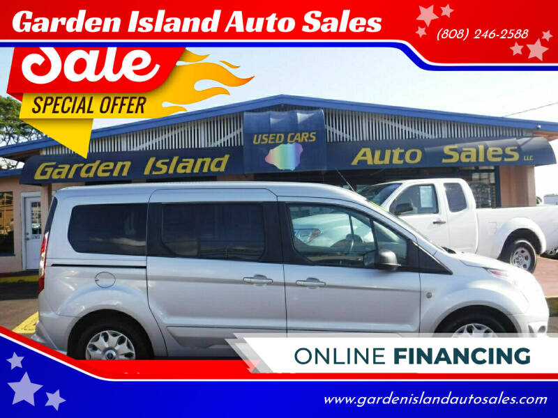 2016 Ford Transit Connect Wagon for sale at Garden Island Auto Sales in Lihue HI