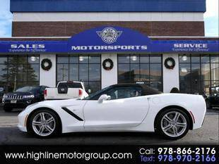 2016 Chevrolet Corvette for sale at Highline Group Motorsports in Lowell MA