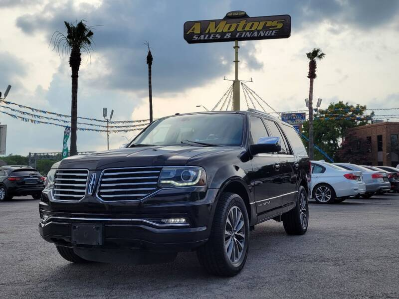 2016 Lincoln Navigator for sale at A MOTORS SALES AND FINANCE in San Antonio TX