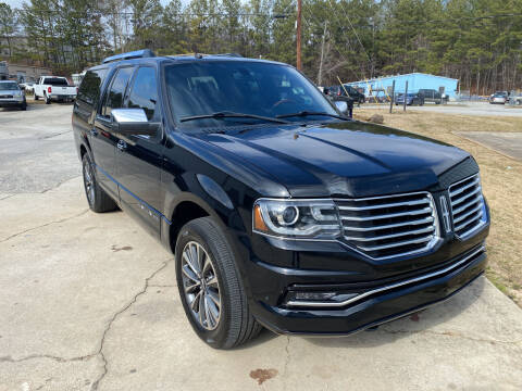 2017 Lincoln Navigator L for sale at Elite Motor Brokers in Austell GA