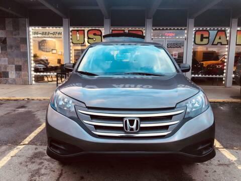 2014 Honda CR-V for sale at Daniel Auto Sales inc in Clinton Township MI