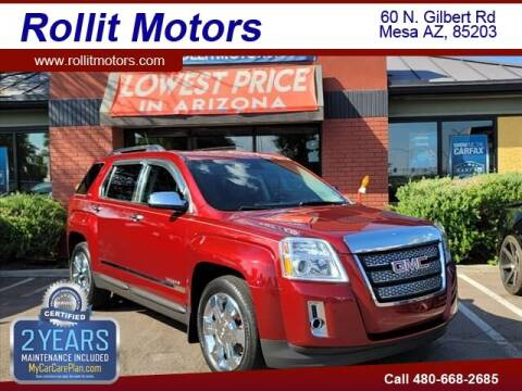 2012 GMC Terrain for sale at Rollit Motors in Mesa AZ