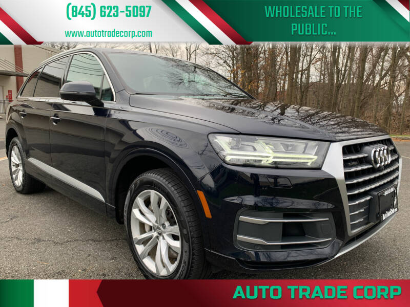 2017 Audi Q7 for sale at AUTO TRADE CORP in Nanuet NY