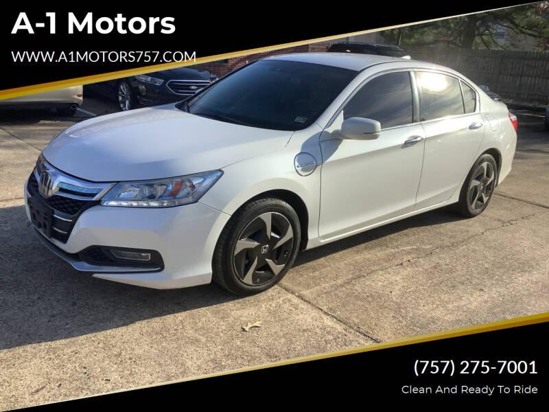 2014 Honda Accord Plug-In for sale at A-1 Motors in Virginia Beach VA