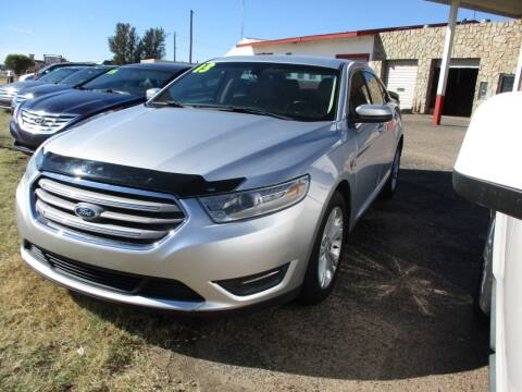2013 Ford Taurus for sale at Sunrise Auto Sales in Liberal KS