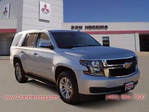 2020 Chevrolet Tahoe for sale at DON HERRING MITSUBISHI in Irving TX