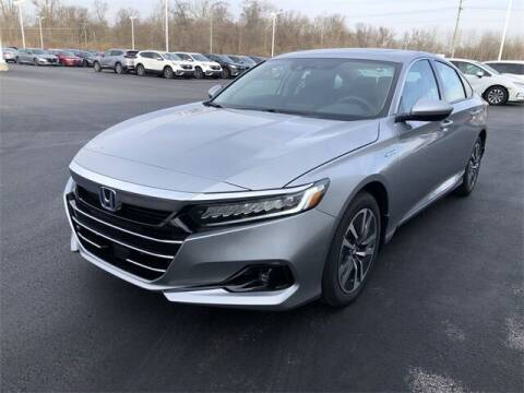2021 Honda Accord Hybrid for sale at White's Honda Toyota of Lima in Lima OH