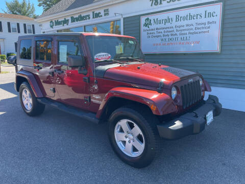 2007 Jeep Wrangler Unlimited for sale at MURPHY BROTHERS INC in North Weymouth MA