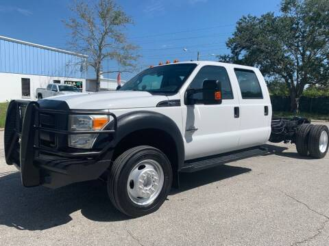 2015 Ford F-550 Super Duty for sale at Transtar Motors in Clearwater FL