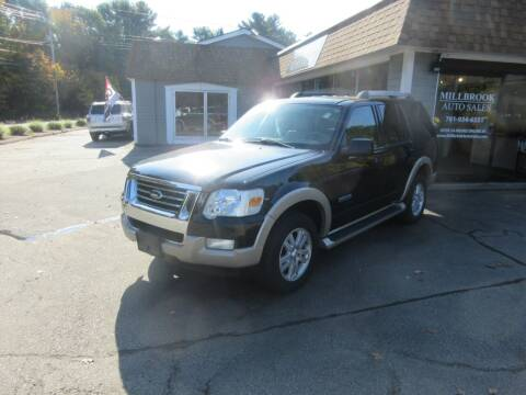 2007 Ford Explorer for sale at Millbrook Auto Sales in Duxbury MA