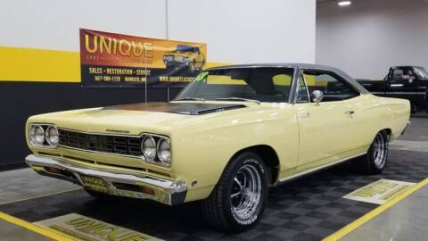 1968 Plymouth Roadrunner for sale at UNIQUE SPECIALTY & CLASSICS in Mankato MN