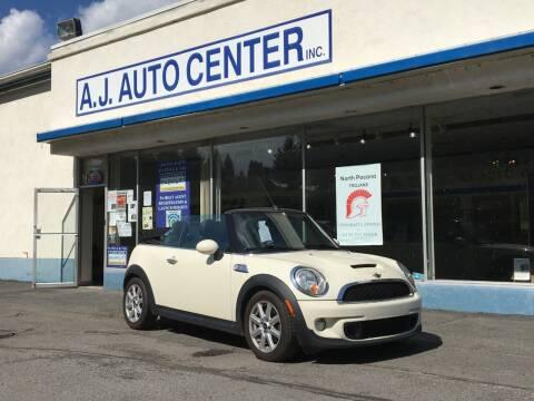 2011 MINI Cooper for sale at AJ AUTO CENTER in Covington PA