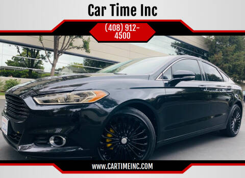 2013 Ford Fusion for sale at Car Time Inc in San Jose CA