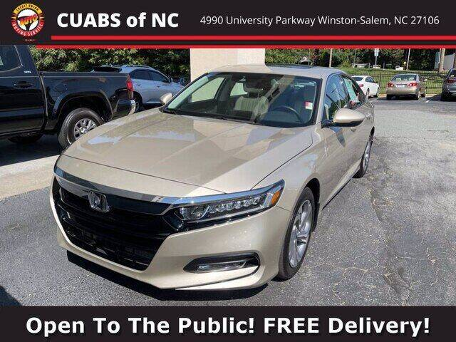 2019 Honda Accord for sale at Summit Credit Union Auto Buying Service in Winston Salem NC
