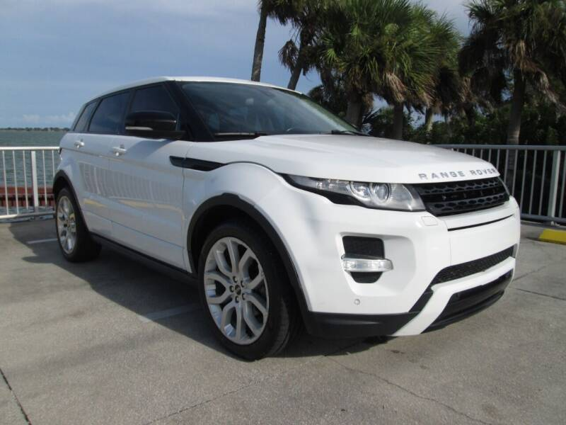 2012 Land Rover Range Rover Evoque for sale at Best Deal Auto Sales in Melbourne FL