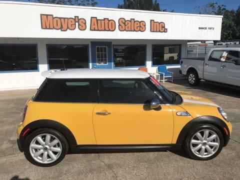 2008 MINI Cooper for sale at Moye's Auto Sales Inc. in Leesburg FL