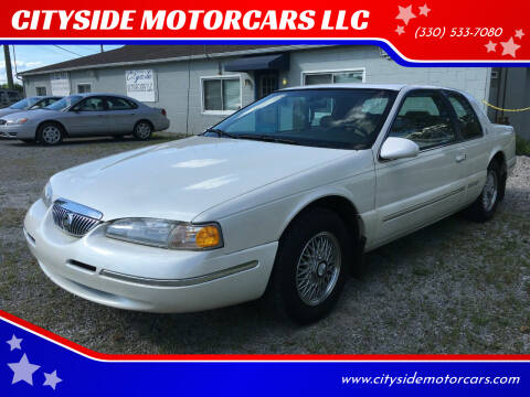 1996 Mercury Cougar for sale at CITYSIDE MOTORCARS LLC in Canfield OH