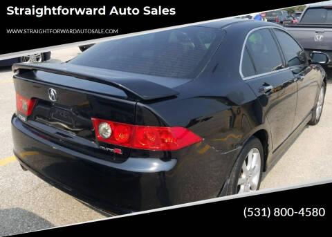 2006 Acura TSX for sale at Straightforward Auto Sales in Omaha NE