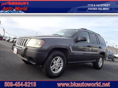 2004 Jeep Grand Cherokee for sale at Bruce Kirkham Auto World in Yakima WA