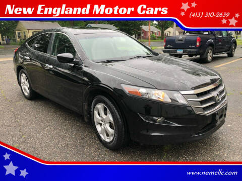 2010 Honda Accord Crosstour for sale at New England Motor Cars in Springfield MA