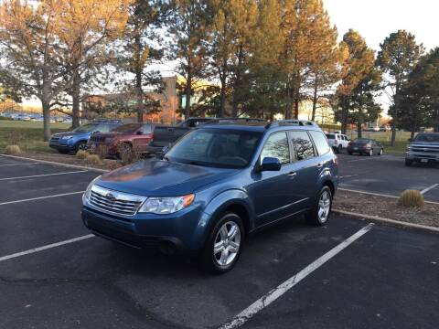 2009 Subaru Forester for sale at QUEST MOTORS in Englewood CO