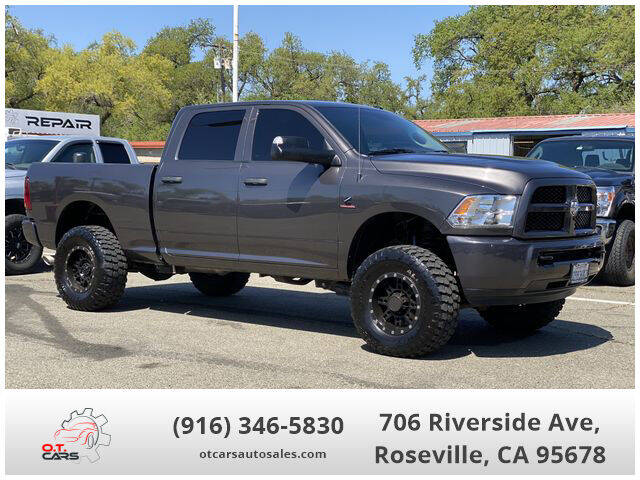 2018 RAM Ram Pickup 2500 for sale at OT CARS AUTO SALES in Roseville CA