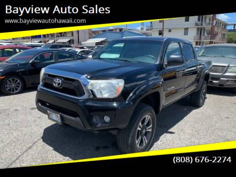 2012 Toyota Tacoma for sale at Bayview Auto Sales in Waipahu HI