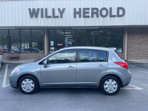 2012 Nissan Versa for sale at Willy Herold Automotive in Columbus GA