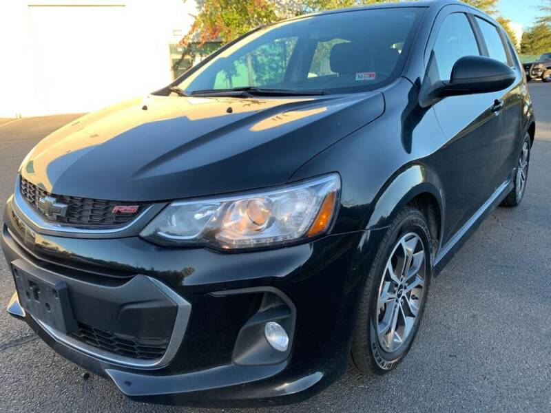 2018 Chevrolet Sonic for sale at Dulles Cars in Sterling VA