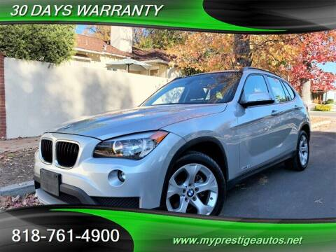 2015 BMW X1 for sale at Prestige Auto Sports Inc in North Hollywood CA