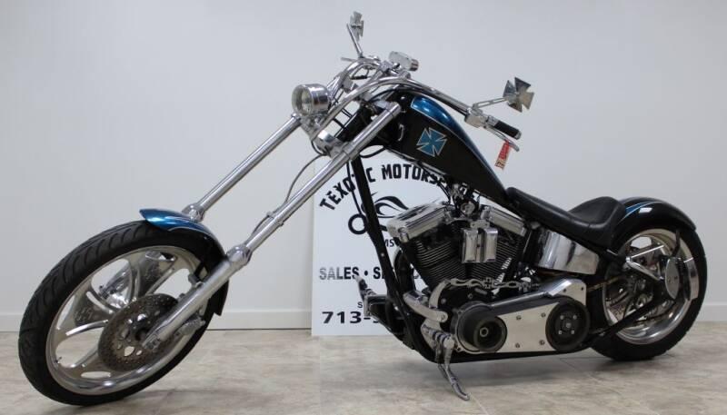 2004 REVOLUTION MOTO RIGID CHOPPER for sale at Texotic Motorsports in Houston TX